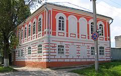 Севск. Отреставрированный дом жены коллежского регистратора Прохоровой начала XIX века